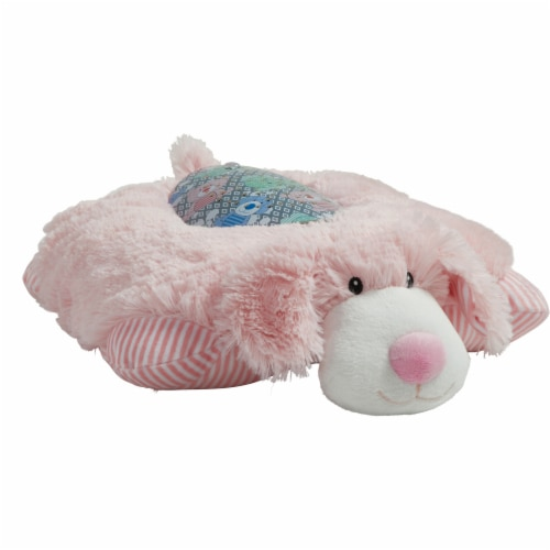 Pillow Pets My First Puppy Sleeptime Lite Plush Toy - Pink Perspective: left