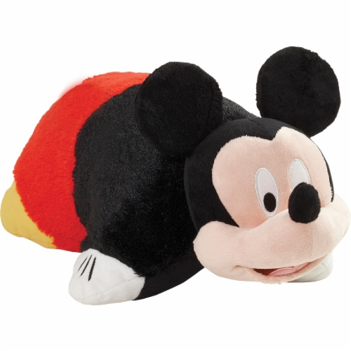 Pillow Pets Mickey Mouse Pillow & Sleeptime Lite Plush Slumber Pack Perspective: left