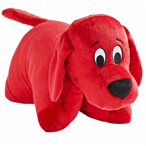 Pillow Pets Jumboz Scholastic Clifford The Big Red Dog Plush Toy Perspective: left