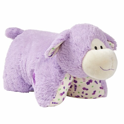 Pillow Pets Sweet Lavender Scented Lamb Plush Toy Perspective: left