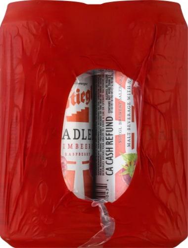Stiegl Raspberry Radler Beer Perspective: left