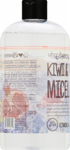 Urban Hydration Kiwi & Pomegranate Micellar Cleansing Water Perspective: left