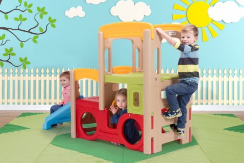 Simplay3 Adventure Climber Playset Perspective: left