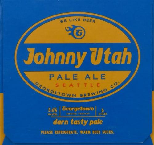 Georgetown Brewing Johnny Utah Pale Ale Perspective: left