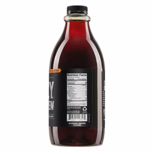 Bizzy Organic Breakfast Blend Cold Brew Coffee Perspective: left