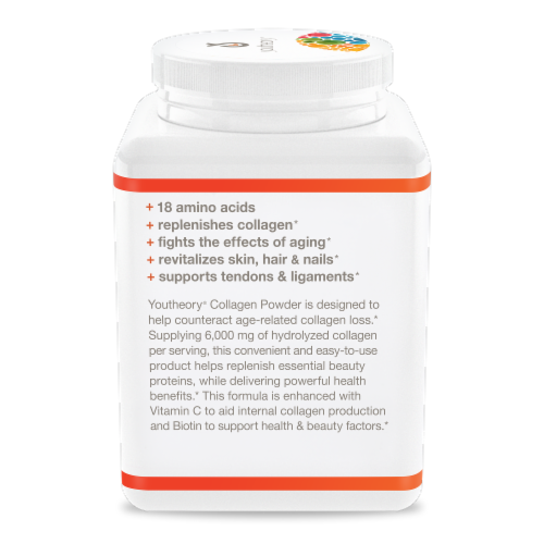 Youtheory® Vanilla Collagen Powder Perspective: left