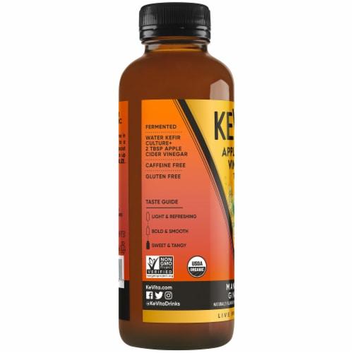 Kevita Apple Cider Vinegar Tonic Drink Ginseng Manderin Perspective: left
