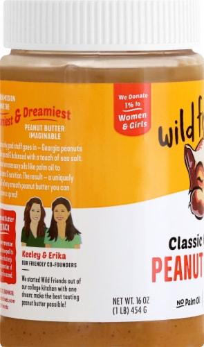 Wild Friends Organic Creamy Peanut Butter Perspective: left