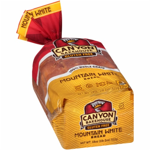 Canyon Bakehouse Gluten Free Mountain White Bread Perspective: left