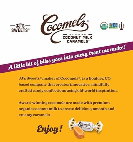 Cocomels Vanilla Coconut Milk Caramels Perspective: left