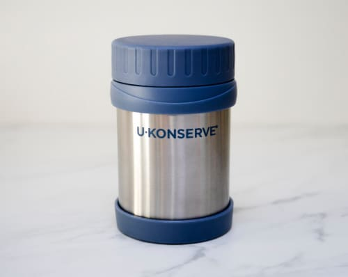 U-Konserve Insulated Food Jar Stainless Steel Container - Ocean Perspective: left