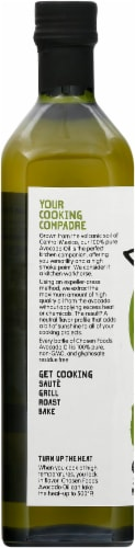 Chosen Foods 100% Pure Avocado Oil All-Purpose Cooking Oil Perspective: left