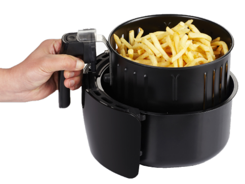 GoWISE USA 2.75-Quart Digital 50 Recipes for Your Air Fryer Book, Qt, Black Perspective: left