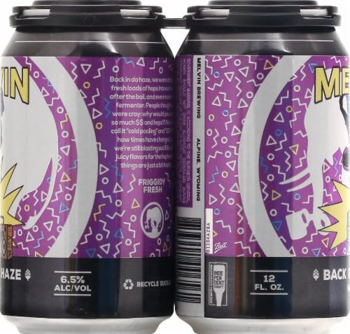 Melvin Brewing Back In Da Days Hazy IPA Beer Perspective: left