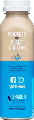 Koia Plant Based Vanilla Bean Protein Drink Perspective: left