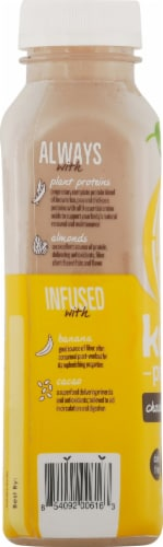 Koia Plant-Based Chocolate Banana Protein Drink Perspective: left