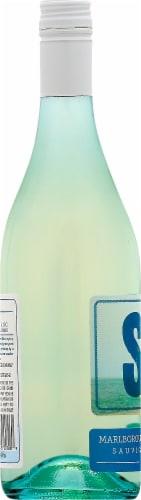 Sea Salt Sauvignon Blanc Sparkling Wine Perspective: left