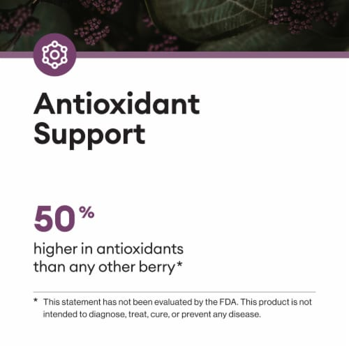 Physician's Choice Elderberry Immune Support Gummies Perspective: left
