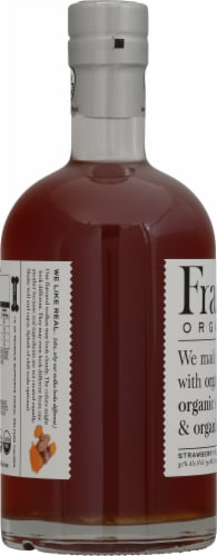 Frankly Organic Vodka Strawberry Flavored Vodka Perspective: left