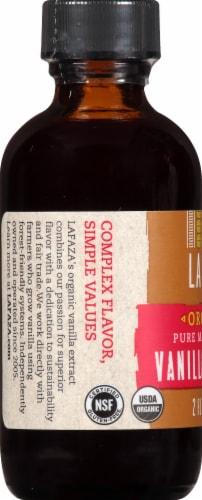LAFAZA Organic Madagascar Vanilla Extract Perspective: left