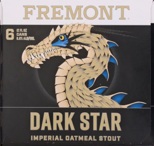 Fremont Dark Star Imperial Oatmeal Stout Perspective: left