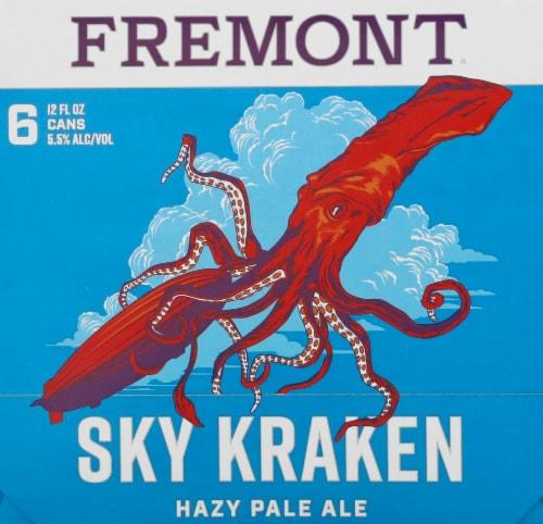 Fremont Sky Kraken Hazy Pale Ale Perspective: left