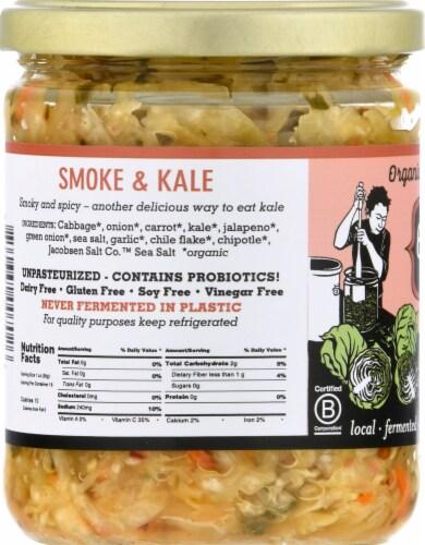 OlyKraut Smoke & Kale Raw Sauerkraut Perspective: left