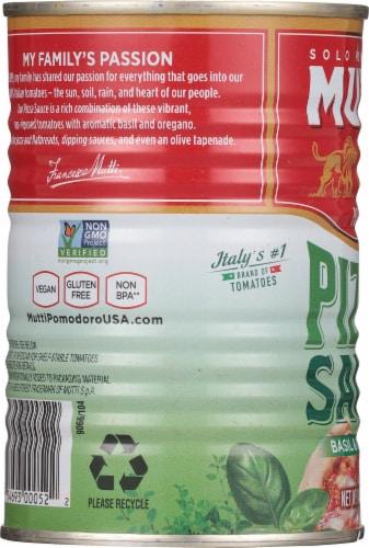 Mutti Basil & Oregano Pizza Sauce Perspective: left