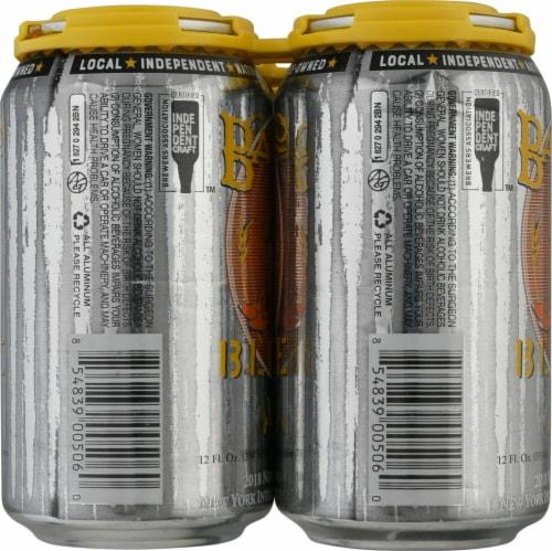 Barrio Brewing Blonde Ale Beer Perspective: left