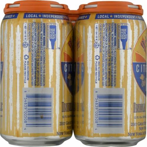 Barrio Brewing Citrazona IPA Beer Perspective: left