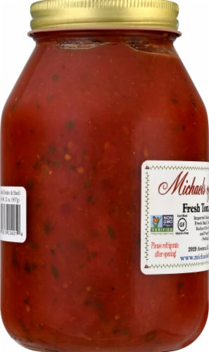 Michaels of Brooklyn Fresh Tomato & Basil Sauce Perspective: left