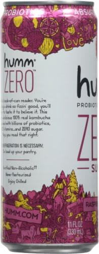 Humm Kombucha Zero Raspberry Lemonade Perspective: left