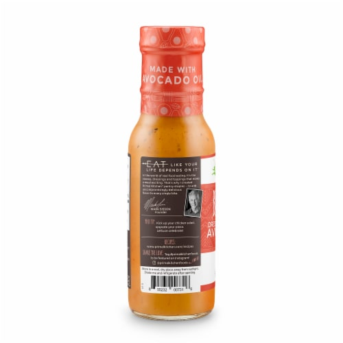 Primal Kitchen BBQ Ranch Dressing and Marinade Perspective: left