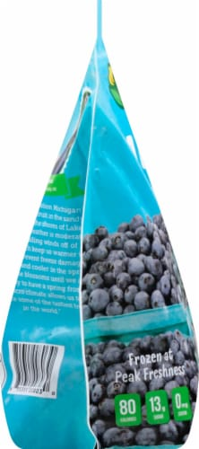 Seal The Seasons Frozen Michigan Blueberries Perspective: left