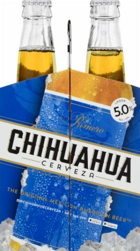 Chihuahua Cerveza Primero Lager Perspective: left