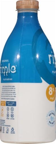 Ripple Original Dairy-Free Pea Milk Perspective: left