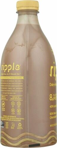 Ripple® Chocolate Dairy-Free Pea Milk Perspective: left