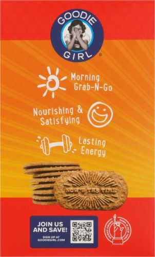 Goodie Girl Gluten Free Cinnamon Brown Sugar Breakfast Biscuits Perspective: left