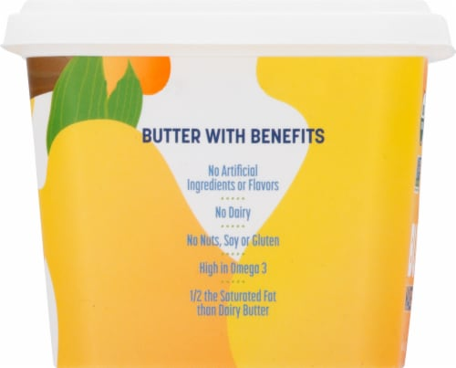 Melt Organic Rich & Creamy Plant Based Butter Perspective: left
