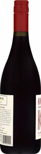 Kings Ridge Oregon Pinot Noir Red Wine Perspective: left