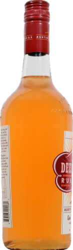 Deep Eddy Ruby Red Vodka Perspective: left