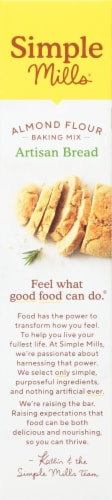 Simple Mills Artisan Bread Almond Flour Baking Mix Perspective: left