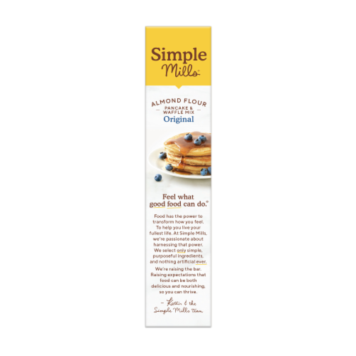 Simple Mills Gluten Free Pancake & Waffle Almond Flour Mix Perspective: left