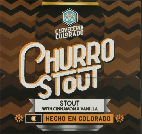 Cerveceria Colorado Churro Stout Perspective: left