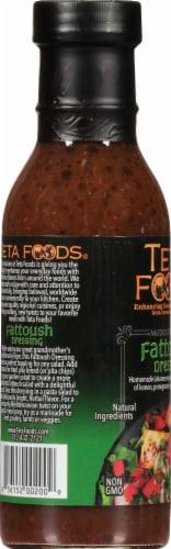 Teta Foods Mediterranean Fattoush Dressing & Marinade Perspective: left