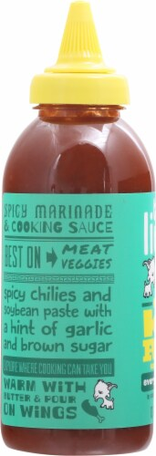 This Little Goat Went to Korea Tangy and Spicy Everything Sauce Perspective: left