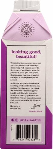 Picnik Unsweetened Collagen Creamer Perspective: left