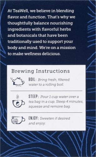 Celestial Seasonings® Tea Well Chamomile Mint Sleep Herbal Supplement Tea Perspective: left