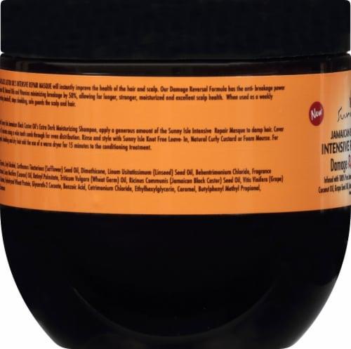 Sunny Isle Jamaican Black Castor Oil Intensive Repair Masque Perspective: left