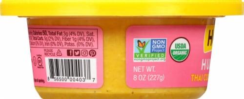 Hope Foods Organic Thai Coconut Curry Hummus Perspective: left